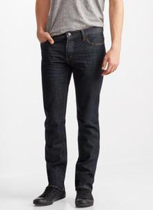 Straight Dark Rinse Wash Jean