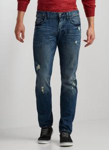 Slim Straight Medium Wash Jean