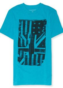 Hybrid Flag Graphic T